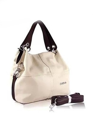 Shoulder Totes Fashion PU Double Handle Bags