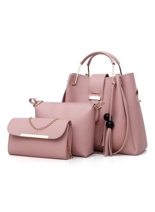 Tote Fashion Tassel Double Handle Bags (1407180)