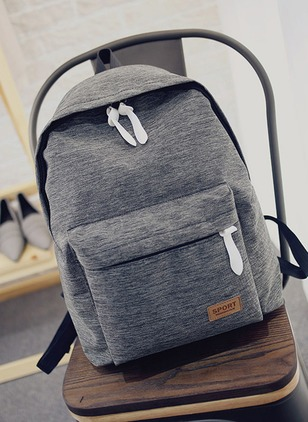 Backpacks Fashion Canvas Zipper Adjustable Bags