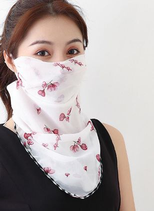 Casual Floral Scarves (1523161)