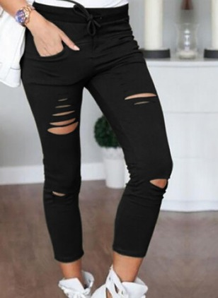 Skinny Cotton Jeans Pants & Leggings
