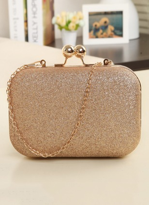Shoulder Fashion Polyester Chain Bags