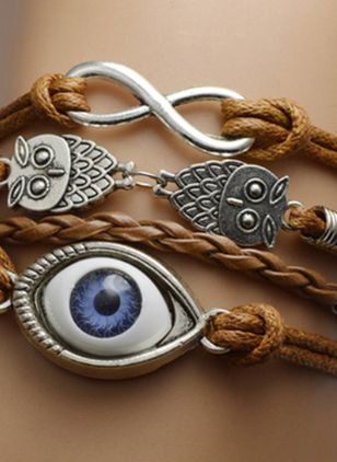 Casual Animal No Stone Link Bracelets (146775881)