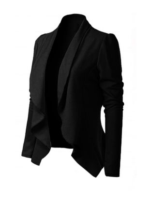 Long Sleeve Lapel Coats (4038719)