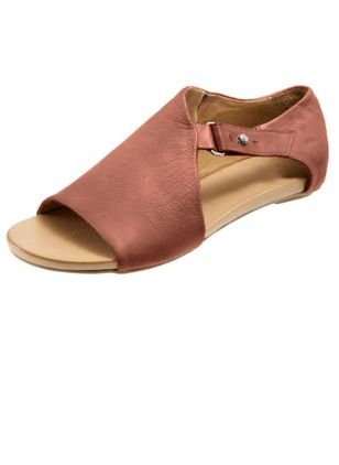 Buckle Flats Flat Heel Shoes
