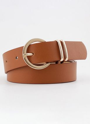Casual Solid Belts (1527387)