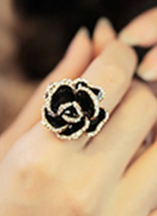 Floral No Stone Rings