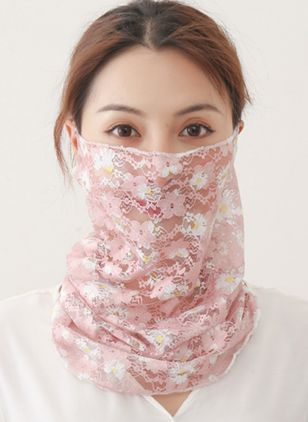 Casual Floral Scarves (4456818)
