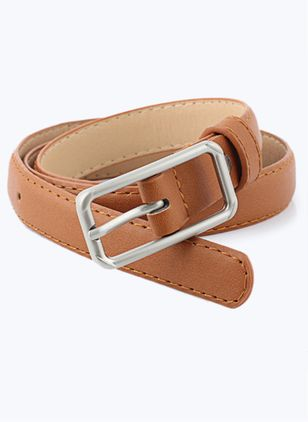 Casual Metal Solid Belts (1519710)