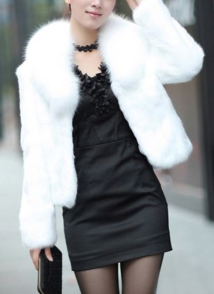 Long Sleeve Other Fur Coats