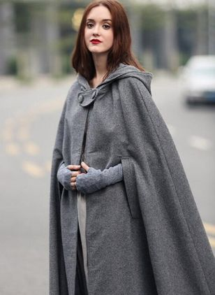 Long Sleeve Hooded Capes