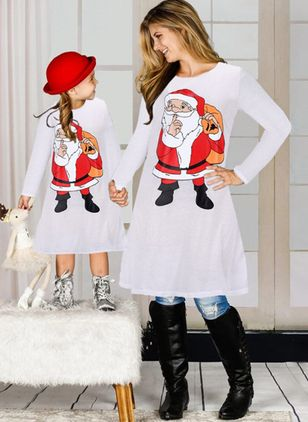 Mommy and Me Character Christmas Long Sleeve Family Outfits (120294932)
