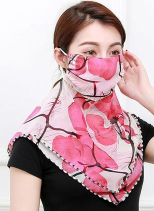 Casual Floral Scarves (1513338)