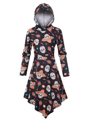 Halloween Character Sweatershirt Others X-line Dress (109973065)