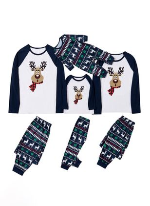 Family Look Animal Christmas Long Sleeve Family Outfits (146737896)