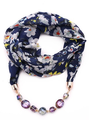 Chiffon Floral Scarves