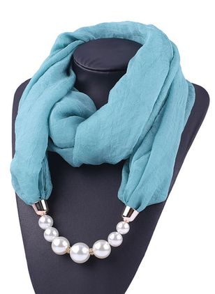 Casual Solid Scarves (111853067)