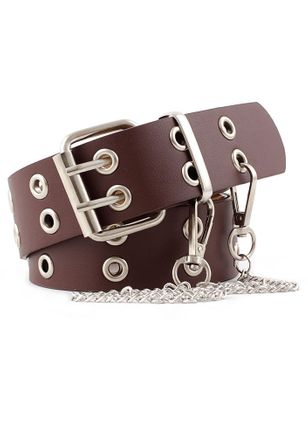 Elegant Hollow Out Solid Belts (5501782)