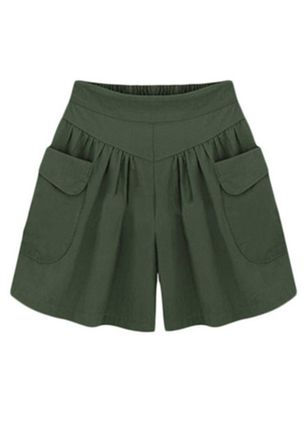 Women's Straight Pants Shorts (4228681)