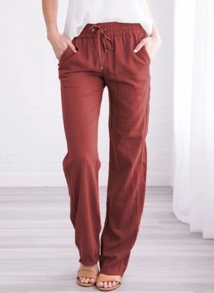 Women's Straight Pants (4457322)
