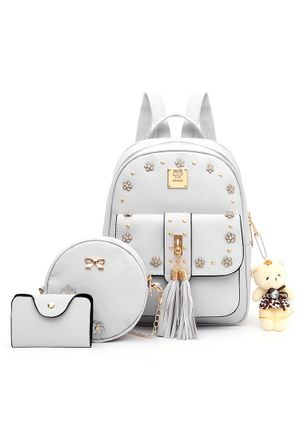 Bag Sets Backpacks Fashion Tassel Adjustable Bags (1529801)