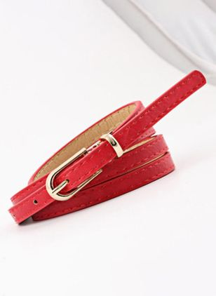 Casual Solid Belts (107561483)