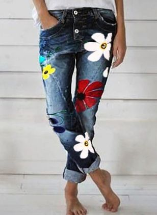 Denim Pants (4457992)