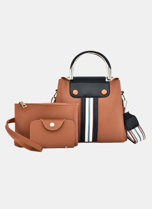 Bag Sets Fashion Zipper Double Handle Bags (4041090)