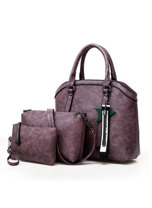 Bag Sets Fashion Zipper Double Handle Bags (147089732)