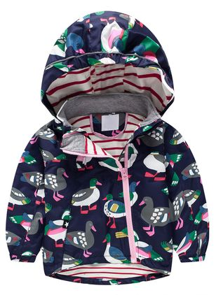 Girls' Cute Animal Hooded Coats