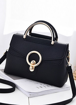Shoulder Fashion PU Studded Adjustable Bags