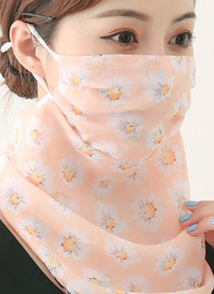 Casual Floral Scarves (4209098)