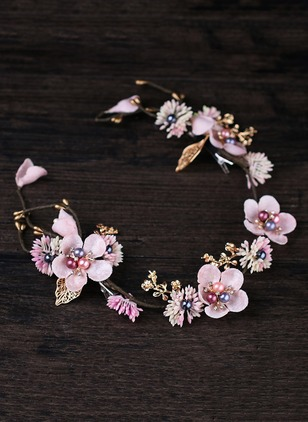 Floral Hair Accessories Single