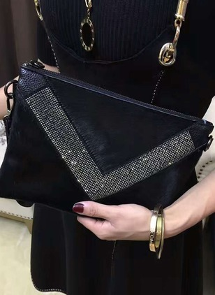 Clutches Fashion Polyester Rhinestone Bags
