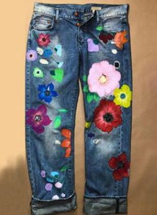 Jeans Donna A sigaretta (1466628)
