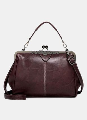 Shoulder Fashion Zipper Double Handle Bags (4041099)