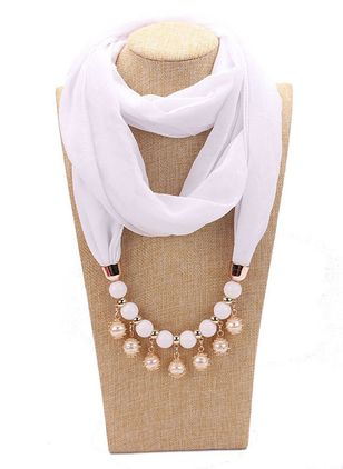 Casual Solid Scarves (109973766)