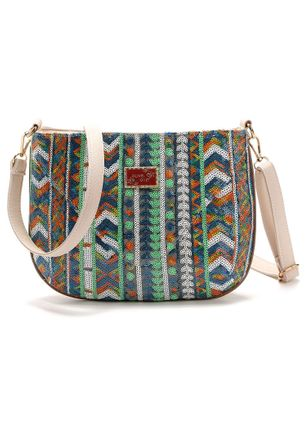 Shoulder Vintage Print Double Handle Bags (147045406)