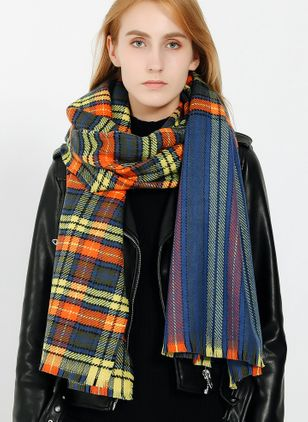 Casual Check Scarves