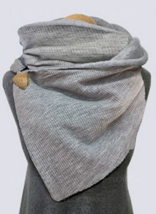 Casual Solid Scarves (146650359)