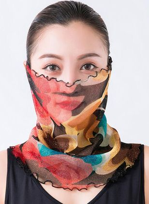 Elegant Color Block Scarves (1525426)