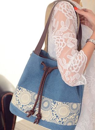 Tote Fashion Print Double Handle Bags (1504915)