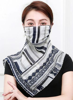 Casual Geometric Scarves (1513337)