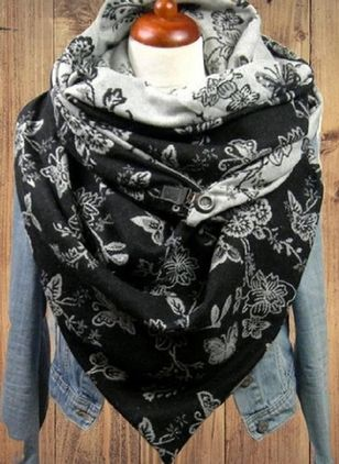 Casual Floral Scarves (111608246)