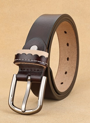 Leatherette Solid Belts