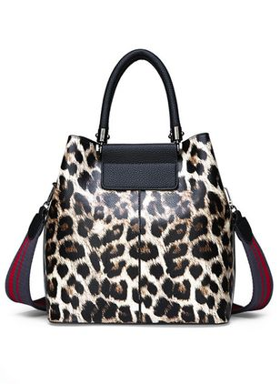 Tote Fashion Print Double Handle Bags
