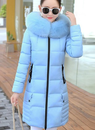 Polyester Long Sleeve Other Zipper Coats