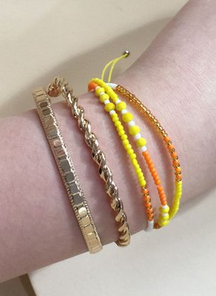 Casual Ball No Stone Link Bracelets (104147593)