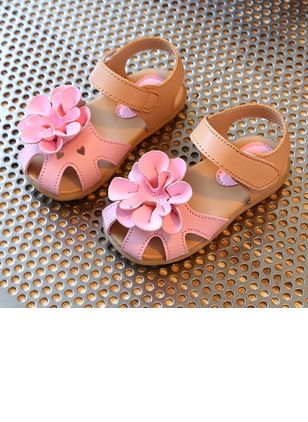 Girls' Flower Hollow-out Party & Evening Girls' Shoes