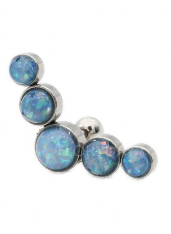 Ball Crystal Stud Earrings
